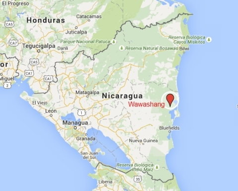 Mapa Nicaragua